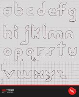RIOKA TYPEFACE SKETCHES by Solaris07