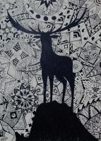 Deer by she0wolf