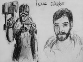 sketches Isaac (3) by spaceMAXmarine