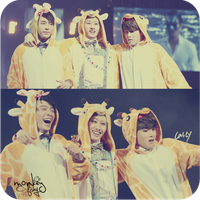 Eunhyuk, Donghae and Ryeowook by Monkeyfishy