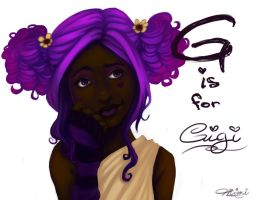 G is for Gigi by Mimisaurus