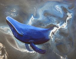 Blue Whale by CancersSkinnyLove