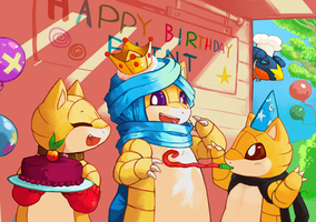 Happy Birthday Andy by ChillySunDance