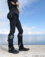 Apocalyptic leg warmers 1 by Nomadum