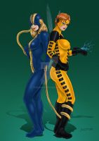 Constrictor and Yellowjacket by Teri-Minx