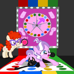 Diamond and Dazzle: Twister by MagerBlutooth