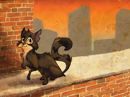 The Alley Cat by Bedupolker
