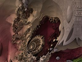 Red Rock Cavern by auntDevi