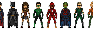 Justice League by RH93535HQ