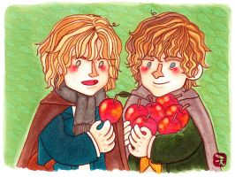 Apples. by girabbit