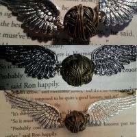 Golden Snitch Bracelet by CWood5678