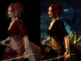 Wandering - Before And After by Afina79