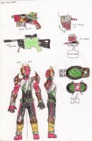 Kamen Rider Gryphon by FlamedramonX20