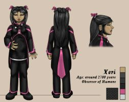 Character Sheet - Xeri by swiftgold