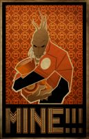 larfleeze construct by waitedesigns
