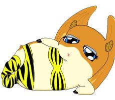 Patamon as Lum... WHY GOD WHY by Blitzkrieg1701