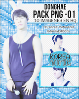 Donghae (Super Junior) - PACK PNG#01 by JeffvinyTwilight