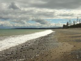 North Beach, Haida Gwaii by HerrHaller