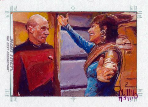 star trek tng 2 sketch card 13 by charles-hall