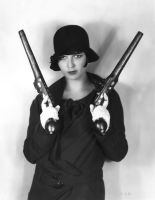 Louise Brooks #25, 1920's by NJDVINTAGE