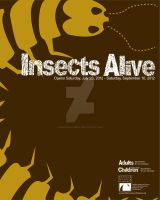 Insects Alive 16x20 poster by Dragonrose247