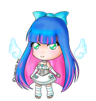 Chibi Angel Stocking by LiloLilosa