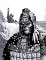 Planet of the Apes Sketch by craigcermak