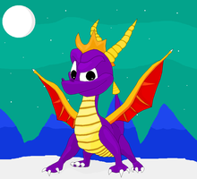 Spyro The Dragon by TomTheFox
