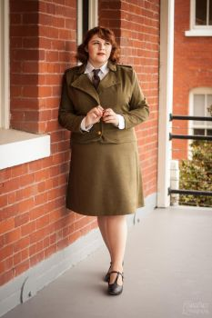 Formal Peggy Carter by Terrific-Tampax