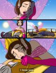 Beauty and the dragon Comic page2 of 2 by YunakiDraw