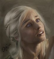 Game of Thrones - Daenerys by DaaRia