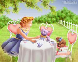 Tea-Party by Dorothy-T-Rose