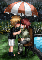 GaaNaru: Rain by Endless-Mittens