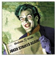 Upperdeck Joker Vs Card by mikemayhew