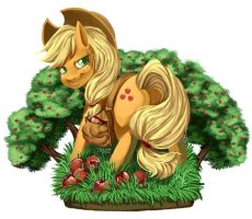 MLPFIM - Applejack by 2Dea