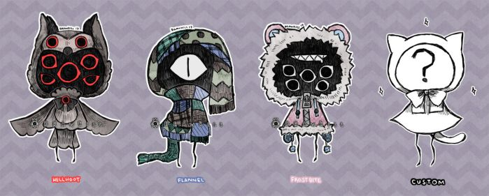 Eyeball Puppets 5 [CLOSED] by DrawKill