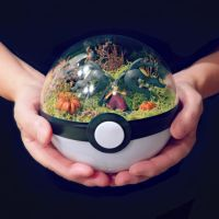 Mega Mawile Pumkinpatch - Poke Ball Terrarium by TheVintageRealm