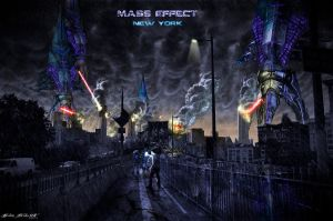 Mass Effect NYC by Drumpower