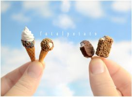 miniature ice cream IV by FatalPotato