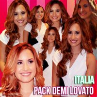 Pack Demi Lovato italia PNG by krtes2703