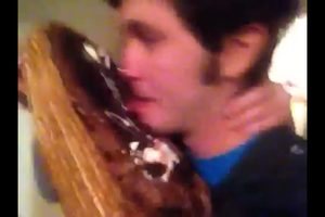 Tobuscus Meets Cake by WorldwideImage