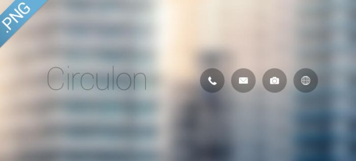 Circulon Icons by FFra