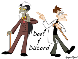 :.Doof n Discord.: by risaXrisa