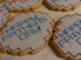 Father's Day Cookies by eckabeck