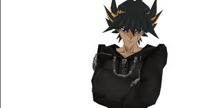 MMD Newcomer Yusei + DL by Valforwing