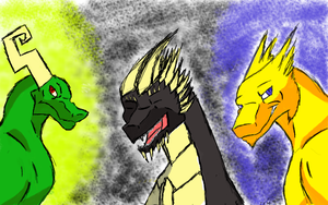 The Three Dracos by AntiMach
