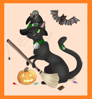 Happy Halloween!! by PinkPoodle543