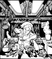 Classic Kitchen Witch by YoungWitches
