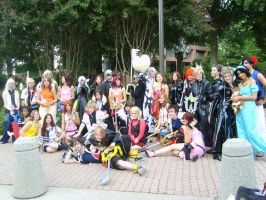 Kingdom Hearts AWA Group Photo by LordItachi