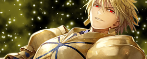 Gilgamesh Signature / Without Resize by KingOfTheHeroes